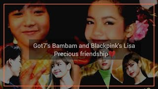 Download lagu GOT7 Bambam and BLACKPINK Lisa pure friendship that make you falling love
