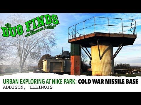 Urban Exploring at Nike Park: Cold War Missile Base