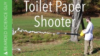 Toilet Paper Shooter