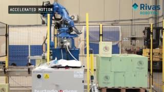 Video: Paletizado Automático de cajas de vino