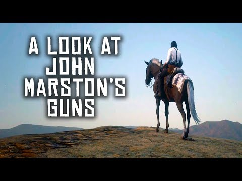 [ASMR] A Look At Some Of John Marston's Guns (Red Dead Redemption 2)