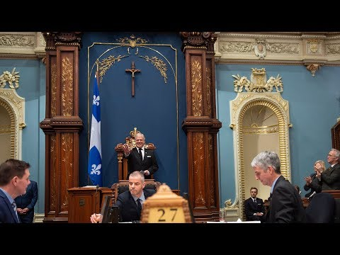 Why is there still a crucifix in Quebec's National Assembly?