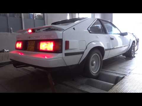 1985 5MGE Toyota Celica Supra MKII Dyno Pull