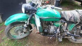 Новый проект, Мотоцикл с двигателем от ВАЗ 2109