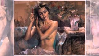 Художественная галерея эротической живописи 9 Испанский художник  Vicente Romero Redondo