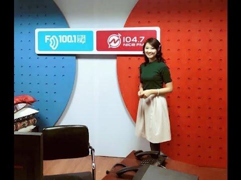 陳佳Chen Jia   访问宁波无线电广播局