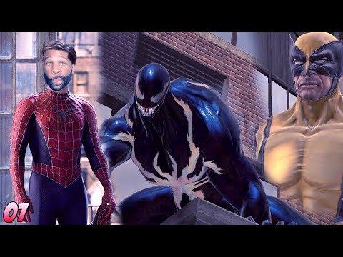 Spider-Man: Web of Shadows Walkthrough Gameplay Part 7 - When the Glitches Come Through