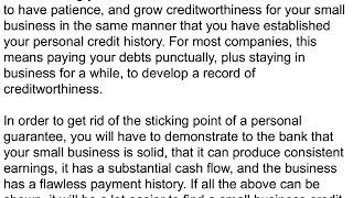 Business Credit Cards With No Pg