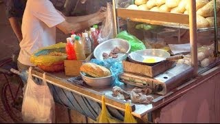 Vietnamese Street Food   French Baguette & Fried Egg 2014