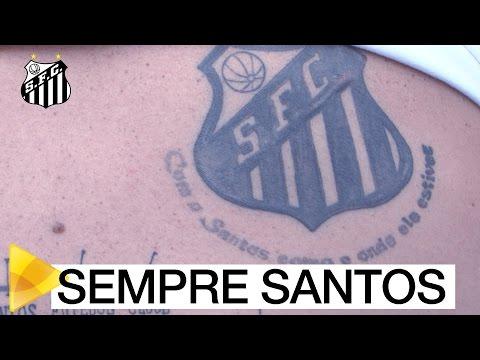 Fanática pelo Santos e fã de David Braz, família visita o CT Rei Pelé