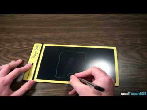 Boogie Board LCD Writing Tablet Review and Showcasing