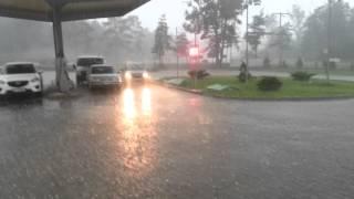 Gradobicie w Nowinach k\Kielc 18.06.2013 \ Hail Storm Nowiny\Kielce Poland