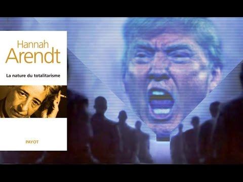Les dérives totalitaires de Trump vues à travers la pensée d'Hannah Arendt (2017, Radio-Canada)