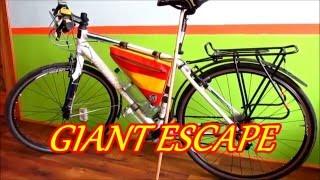 Велосипед Giant Escape після 15 500 км, без ремонту.