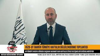 Hizb-ut Tahrir Türkiye Haftalık Değerlendirme Toplantısı [20 Kasım 2018]