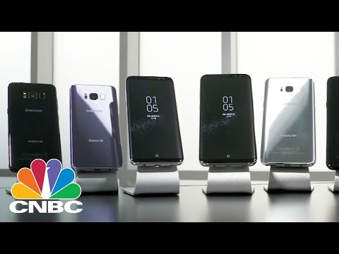 Galaxy S8 Users Finding Problems With Smart Phone's Screen   CNBC
