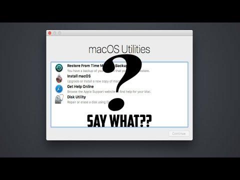How to open Mac OSX Utilities