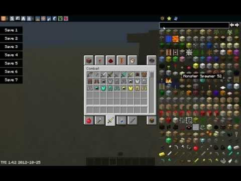 Minecraft mods Capitulo 1 : Descargar e instalar too many items mod para Minecraft 1.4.2
