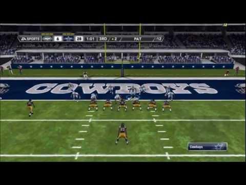 Madden 12 Online-Jets @ Cowboys (13 SACKS!!)