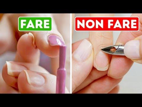 9 Errori della Manicure di Cui non Sei a Conoscenza