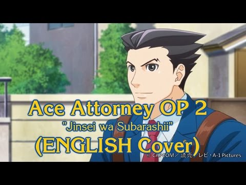 Ace Attorney OP 2 (ENGLISH Cover)