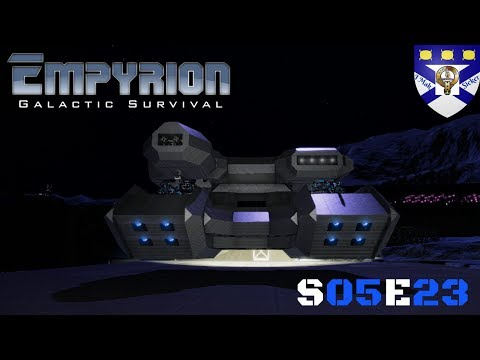 "Empyrion Galactic Survival (S05) -Ep 23 ""HV Hammer Rebuild"" -Multiplayer ""Let's Play"""