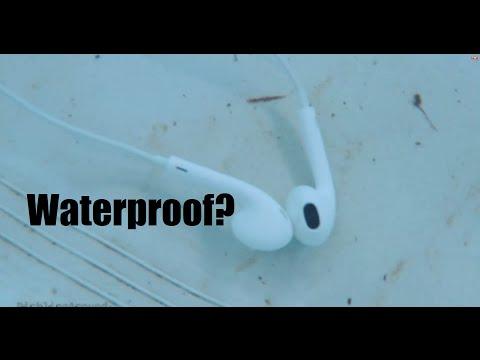 Apple Earbuds Waterproof?? - Earbud Destruction