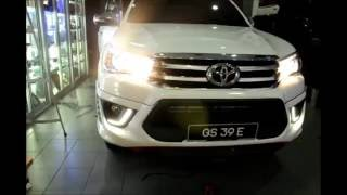 Toyota Hilux Revo TRD Sportivo Front Skirt Presented By Star Car Marina