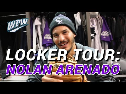 Nolan Arenado Takes WPW on a Locker Tour