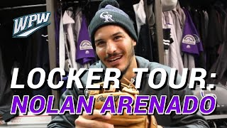 Nolan Arenado Takes WPW on a Locker Tour