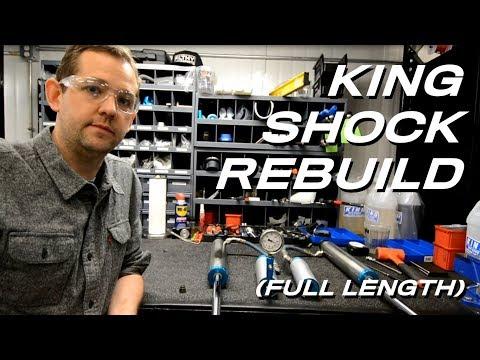 King Shock Rebuild Instructions (Full Length) - Shock Service, LLC