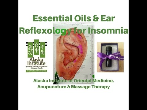 Insomnia - Essential Oils & Ear Reflexology