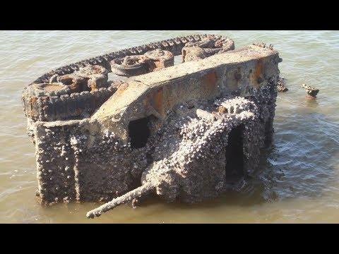 World War II Tank Relics in Djibouti, Africa