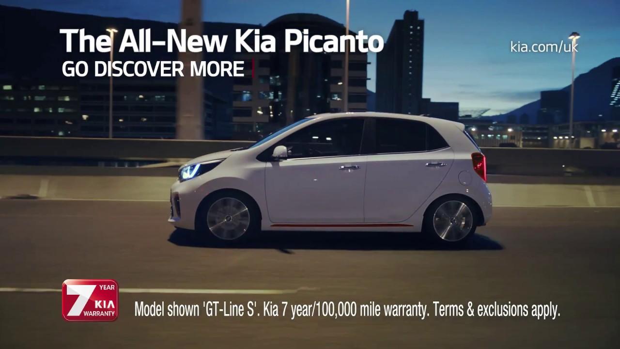 All new picanto 10 tv advert 2017 kia motors uk youtube for How to watch motors tv online