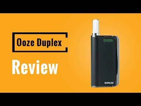 Ooze Duplex Vaporizer Review - Vapesterdam