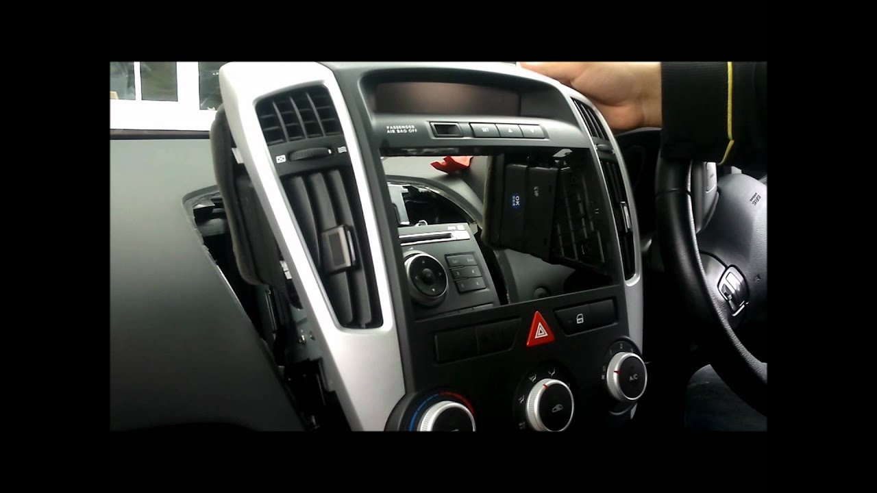 how to remove the standard stereo surround and stereo from a kia c rh youtube com Kia Ceed Interior Kia Ceed Interior