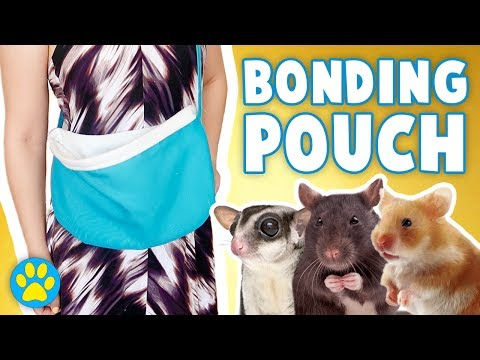 Carry Pouch / Bonding Pouch DIY For Hamsters & Other Pets