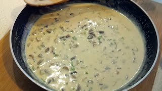 How to make Low Carb Cream Of Mushroom Soup