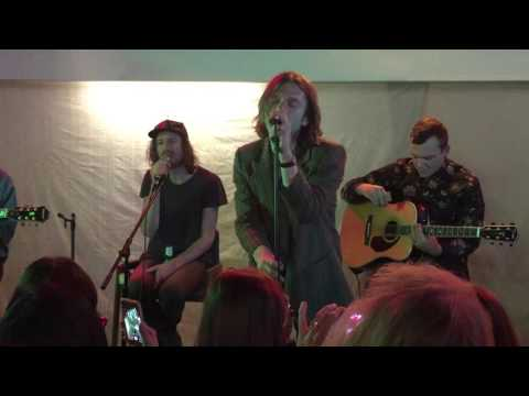 Cage the Elephant Trouble Long Beach Fingerprints Record Store 12/11/15