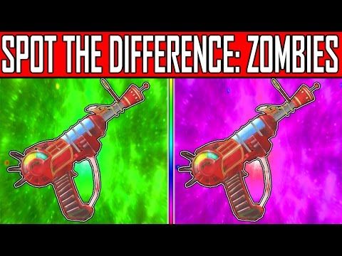 CAN YOU SPOT THE DIFFERENCE?? | Zombies Image Quiz #3 | w/ MrDalekJD