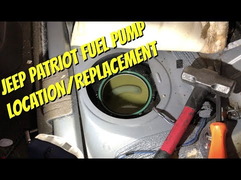 Fuel Pump 2007 - 2014 Jeep Patriot, Jeep Compass, Dodge Caliber - Location  & Installation - YouTubeYouTube