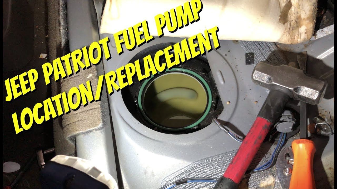hight resolution of fuel pump 2007 2014 jeep patriot jeep compass dodge caliber location installation