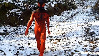 Hero Cosplay Scarlet Spider Zentai Suit 武蔵横手03