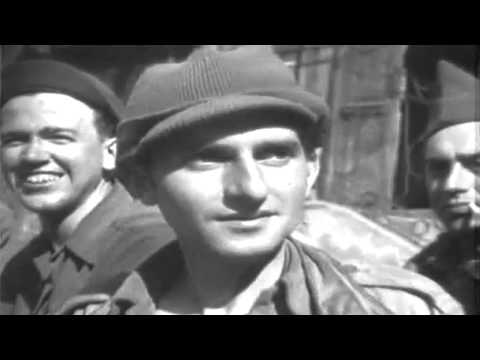 US WW2 POWs Freed By 30th Infantry Div., Colbitz, Germany, 4/14/1945 (full)