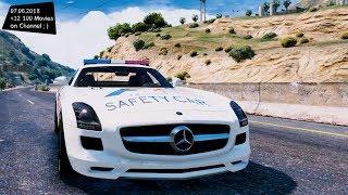 Mercedes SLS AMG Safety Car 1.1 Test Drive GTA V