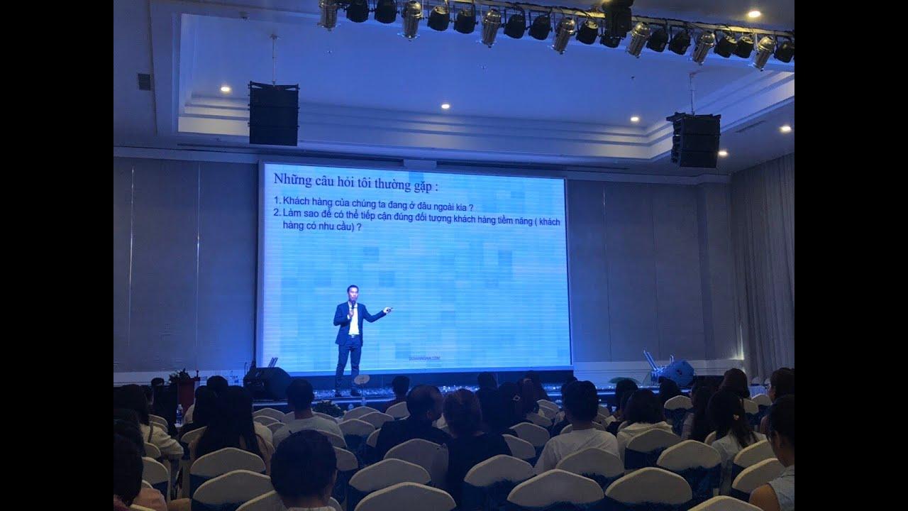 Live stream chia sẻ về Facebook Marketing, bán hàng online kết hợp quảng cáo facebook và chatbot