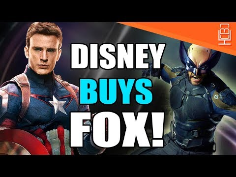 BREAKING NEWS Disney Buys FOX Welcome Home X-Men & Fantastic Four