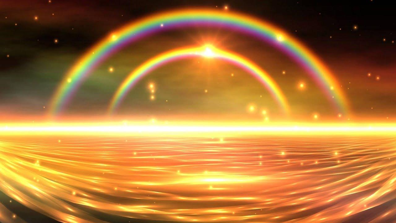 3d Snow Falling Wallpaper 4k Colorful Double Rainbow Falling Snow 3d Sunset Uhd Hd