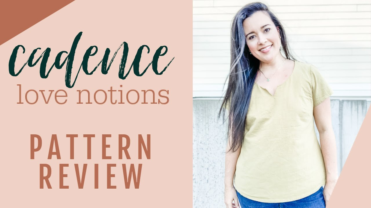 Love Notions' Cadence Top  |  Sewing Pattern Review