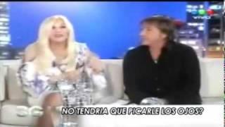 Ricardo Montaner Consumiendo Cocaina en TV Argentina